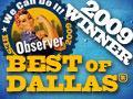 2009 Winner - Dallas Observer Best of Dallas