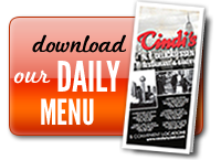 Download our Daily Menu