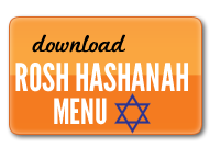 Download Rosh Hashanah menu
