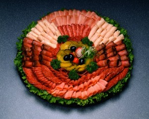 family reunion sliced meat tray