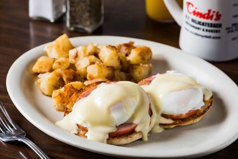 Breakfast for dinner? Yes please! EggsBenny BreakfastAllDay   hellip