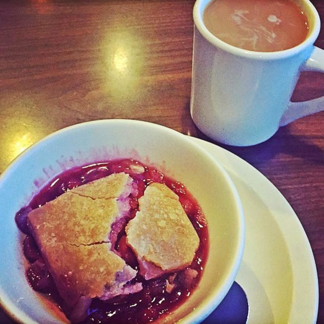 Some days you just really need a cherry cobbler andhellip