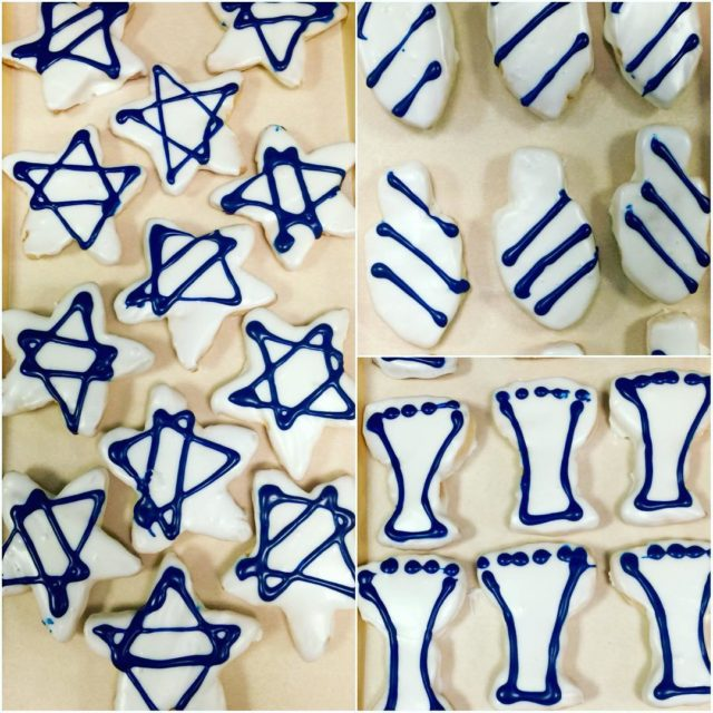 Hannukah cookies! Were still taking orders! Call or see ushellip
